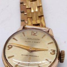 Relojes de pulsera: RELOJ BELISON 17RUBIS CARGA MANUAL. Lote 174067637