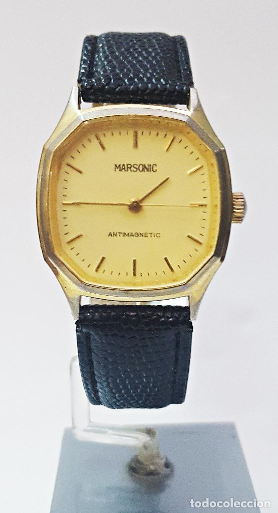 RELOJ MARSONIC ANTIMAGNETIC DE CARGA MANUAL. (Relojes - Pulsera Carga Manual)