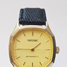 Relojes de pulsera: RELOJ MARSONIC ANTIMAGNETIC DE CARGA MANUAL.. Lote 174096129