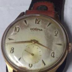 Relojes de pulsera: ANTIGUO DOGMA PRIMA A CUERDA. FUNCIONANDO. 37 MM.. Lote 174178700