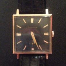 Relojes de pulsera: BULOVA CAJA CUADRADA. Lote 174340072