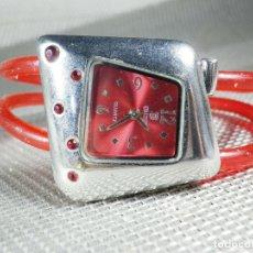 Relojes de pulsera: AÑORABLE Y POPULAR RELOJ FINALES DE LOS 80 MUY ALEGRE Y BONITO LOTE WATCHES. Lote 174343762