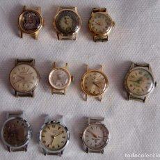 Relojes de pulsera: LOTE DE RELOJES DE DAMA CERTINA, CYMA DUWARD... R20. Lote 174411338