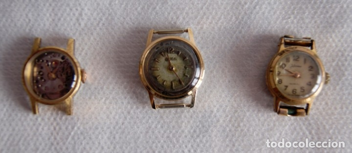 Relojes de pulsera: LOTE DE RELOJES DE DAMA CERTINA, CYMA DUWARD... R20 - Foto 2 - 174411338