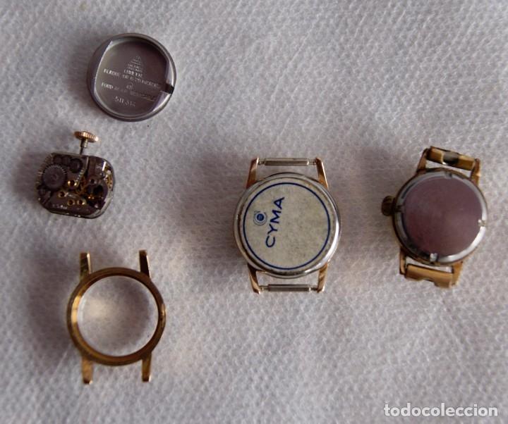 Relojes de pulsera: LOTE DE RELOJES DE DAMA CERTINA, CYMA DUWARD... R20 - Foto 3 - 174411338