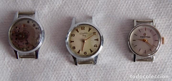 Relojes de pulsera: LOTE DE RELOJES DE DAMA CERTINA, CYMA DUWARD... R20 - Foto 5 - 174411338