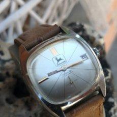 Relojes de pulsera: C2/1 RELOJ VINTAGE JHON DEERE CUERDA EXCELENTE+REVISADO. Lote 174413805