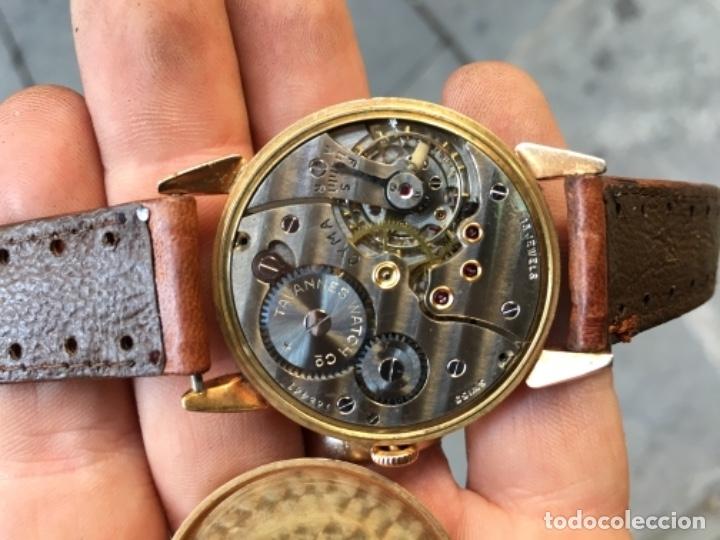 Relojes de pulsera: ANTIGUO RELOJ - CYMA - DE ORO 18 KL. SWISS MADE FUNCIONANDO PERFECTAMENTE SISTEMA DE CUERDA . - Foto 5 - 128856099