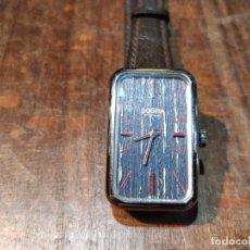 Relojes de pulsera: RELOJ DE PULSERA DOGMA FINE, CARGA MANUAL, FUNCIONANDO. MUY ORIGINAL ESFERA. Lote 53703881