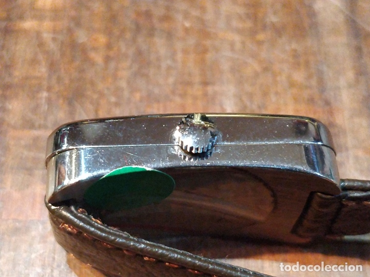 Relojes de pulsera: Reloj de pulsera Dogma Fine, carga manual, funcionando. Muy original esfera - Foto 6 - 53703881
