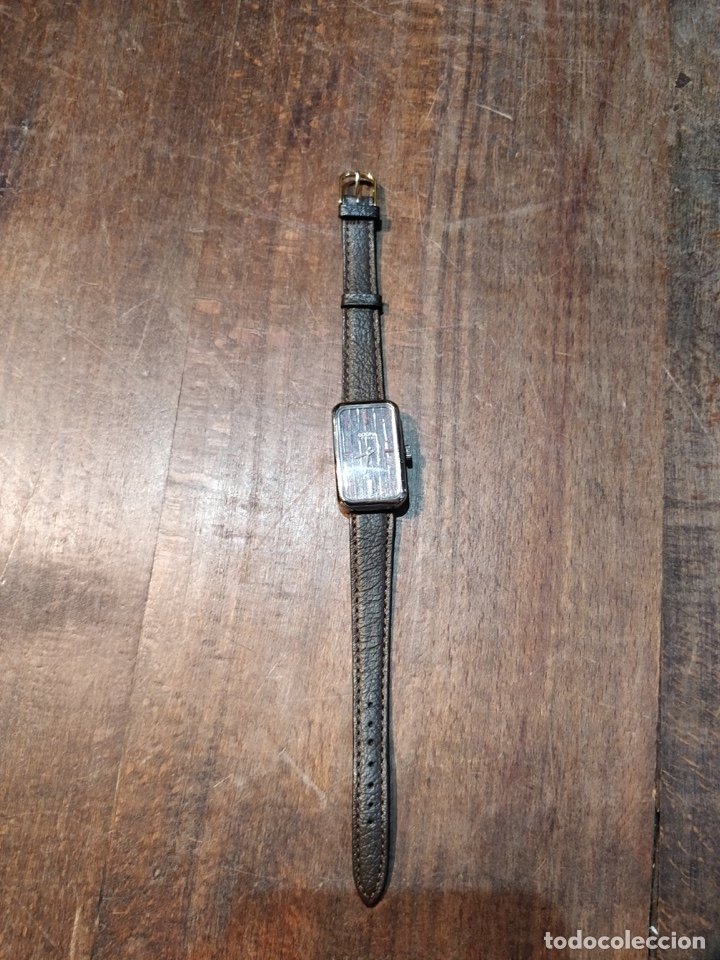 Relojes de pulsera: Reloj de pulsera Dogma Fine, carga manual, funcionando. Muy original esfera - Foto 2 - 53703881