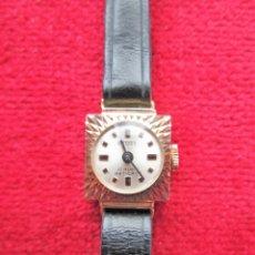 Relojes de pulsera: RELOJ DE PULSERA SUIZO POTENS - CARGA MANUAL - CON SU CAJA EN ORO DE 18 KLTS. FUNCIONANDO . Lote 174849620