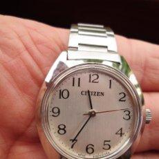 Relojes de pulsera: RELOJ DE PULSERA CITIZEN CARGA MANUAL-CUERDA - FUNCIONANDO - DE ACERO INOXIDABLE CADENA REGULABLE- . Lote 174854243