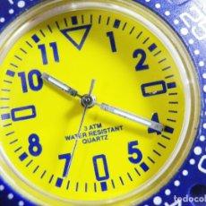 Relojes de pulsera: DEPORTIVO RELOJ DE CABALLERO SCENE FIN STOK AÑO 1999 FUNCIONA LOTE WATCHES. Lote 174929887