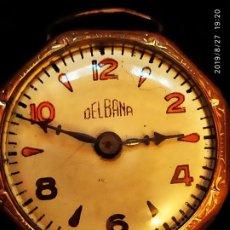 Relojes de pulsera: ANTIGUO RELOJ DELBANA SEÑORA PEQUEÑO BONITO. Lote 174989845