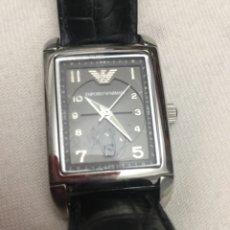 Relojes de pulsera: RELOJ EMPORIO ARMANI, MODEL AR 274; CAJA RECTANGULAR DE ACERO INOXIDABLE. Lote 175076597