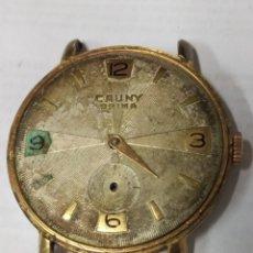 Relojes de pulsera: ANTIGUO CAUNY PRIMA A CUERDA. 38 MM.. Lote 175109494