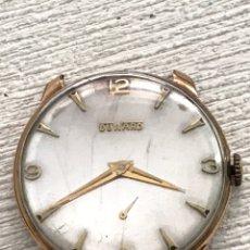 Relojes de pulsera: RELOJ DUWARD CARGA MANUAL VINTAGE LEER. Lote 175130702