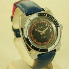 Relojes de pulsera: MAGIA MECANICO TIPO DIVER SUBMARINER 37MM FUNCIONANDO. Lote 175210229