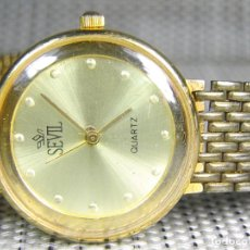 Relojes de pulsera: ANTIGUO SEVIL AÑO 1991 BUEN ETADO FUNCIONA PERFECTAMENTE MUY EXACTO LOTE WATCHES. Lote 175303222