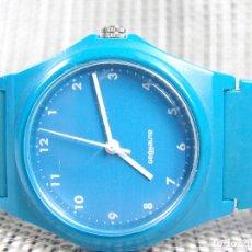 Relojes de pulsera: BONITO GEONAUTE COMODO LIGERO SUMERGIBLE 50 METROS FUNCIONA PERFECTO LOTE WATCHE. Lote 175303474