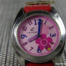 Relojes de pulsera: ALEGRE CALYPSO DE LOTUS ACERO INOX. SUMERGIBLE 30 METROS!! FUNCIONA LOTE WATCHES. Lote 175303727