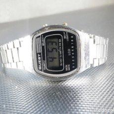 Relojes de pulsera: OCASION QUEST ELECTRONICO AÑOS 80 DE COLECCION FUNCIONA PERFECTO LOTE WATCHES. Lote 175343817