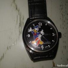 Relojes de pulsera: RELOJ VINTAGE ORIS CUERDA PATO DONALD DISNEY. .. Lote 195787186