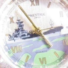 Relojes de pulsera: RARO E INUSUAL RELOJ DE COLECCION TROPHR 2000 PRESTIGE FUNCIONA LOTE WATCHES. Lote 175491403
