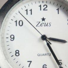 Relojes de pulsera: ANTIGUO Y CLASICO ZEUS AÑOS 90 FIN STOK FUCNIONA PERFECTAMENTE LOTE WATCHES. Lote 175492600