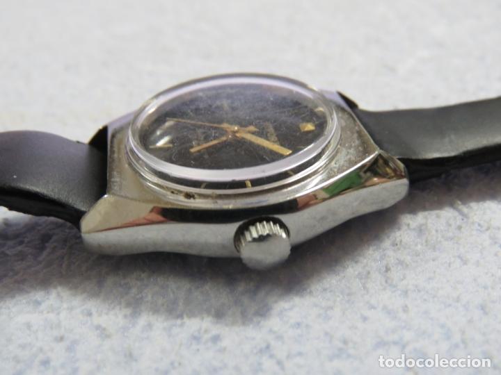 Relojes de pulsera: LOTE DE 3 RELOJES DE PULSERA MARCA BIFORA DE CUERDA MECANICOS, DE LOS AÑOS 50, CORREAS DE CUERO - Foto 13 - 175536095