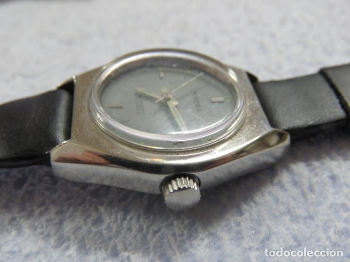 Relojes de pulsera: LOTE DE 3 RELOJES DE PULSERA MARCA BIFORA DE CUERDA MECANICOS, DE LOS AÑOS 50, CORREAS DE CUERO - Foto 14 - 175536095