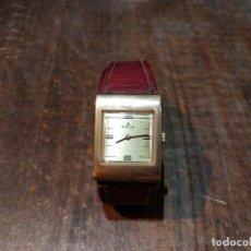 Relojes de pulsera: RELOJ DE PULSERA EDOX, CARGA MANUAL. FUNCIONANDO. BAÑO ORO. Lote 53704101