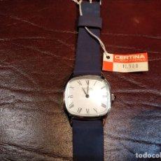 Relojes de pulsera: RELOJ DE PULSERA SIN USO CERTINA - KURTH FRÉRES - CARGA MANUAL. FUNCIONANDO. Lote 53704144