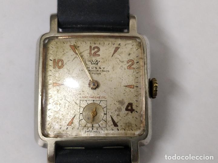 Relojes de pulsera: Antiguo reloj THUSSY La chaux de fonds 15 rubís - Foto 14 - 175656330