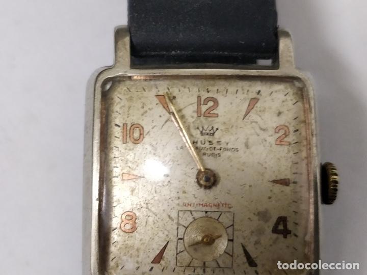 Relojes de pulsera: Antiguo reloj THUSSY La chaux de fonds 15 rubís - Foto 3 - 175656330