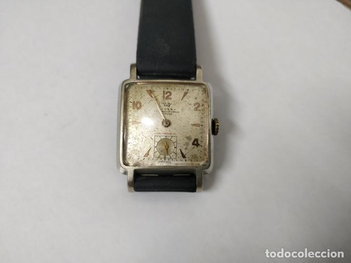 ANTIGUO RELOJ THUSSY LA CHAUX DE FONDS 15 RUBÍS (Relojes - Pulsera Carga Manual)