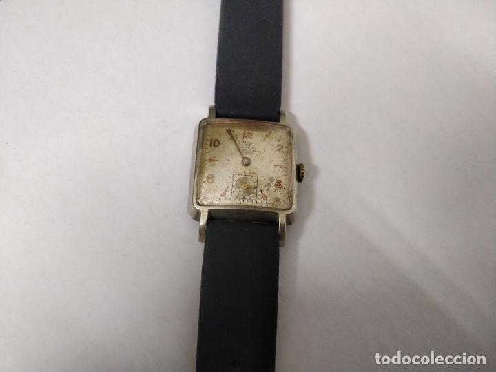 Relojes de pulsera: Antiguo reloj THUSSY La chaux de fonds 15 rubís - Foto 4 - 175656330