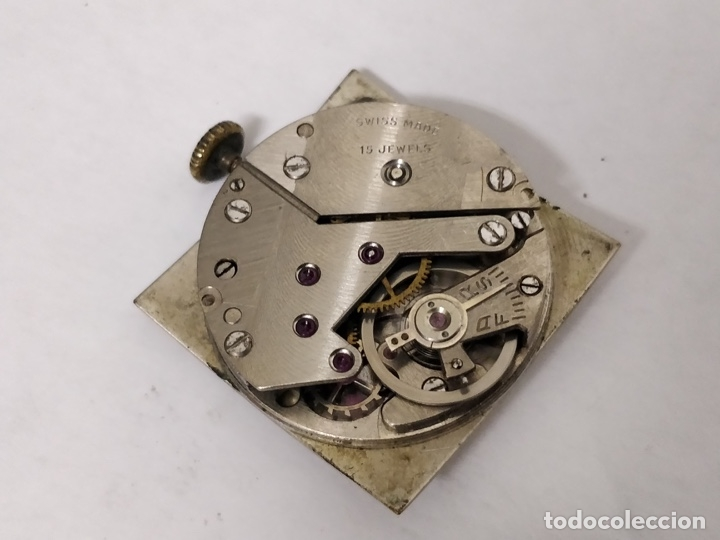 Relojes de pulsera: Antiguo reloj THUSSY La chaux de fonds 15 rubís - Foto 5 - 175656330