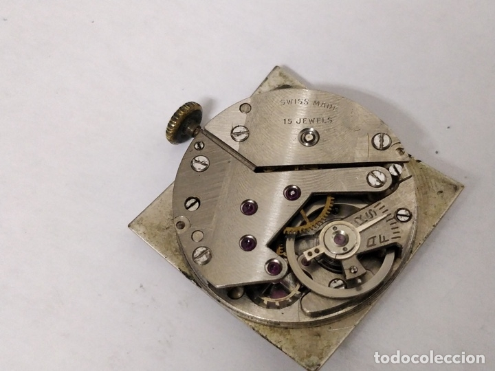 Relojes de pulsera: Antiguo reloj THUSSY La chaux de fonds 15 rubís - Foto 6 - 175656330