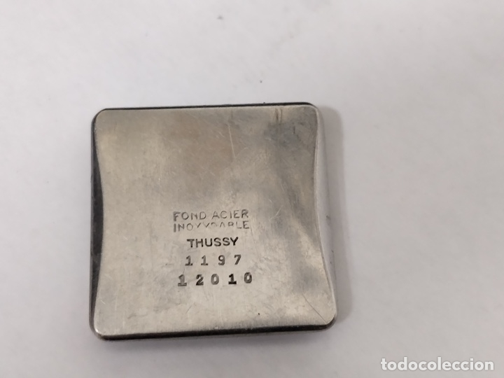 Relojes de pulsera: Antiguo reloj THUSSY La chaux de fonds 15 rubís - Foto 8 - 175656330