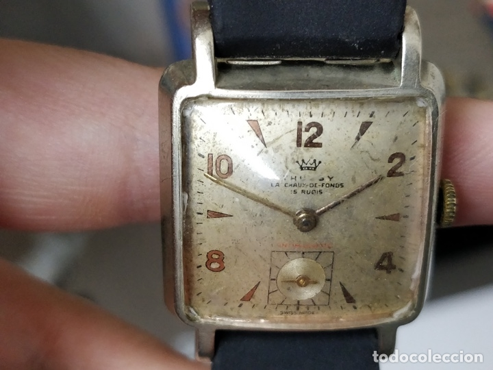 Relojes de pulsera: Antiguo reloj THUSSY La chaux de fonds 15 rubís - Foto 13 - 175656330