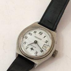 Relojes de pulsera: RELOJ SÚPER WATCH CALENDARIO CARGA MANUAL VINTAGE SEÑORAS. Lote 175754738