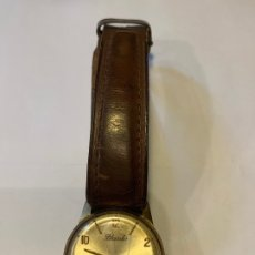 Relojes de pulsera: RELOJ BLASDO 17 RUBIS CON CORREA DE CUERO MED.: 2,7 CMS. SIN TIJA / 3 CMS. CON TIJA (GA). Lote 175758710