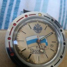 Relojes de pulsera: RELOJ MILITAR RUSO VOSTOK AMFIBIA SUMERGIBLE,. Lote 175782230