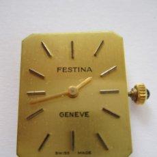 Relojes de pulsera: 94-MÁQUINA FESTINA -17 RUBÍS-AÑOS 80. Lote 175782454