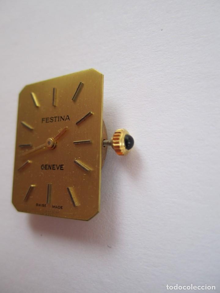 Relojes de pulsera: 94-FESTINA 2512-1, carga manual, Incabloc, 17 Rubís-Años 80 (Funciona) - Foto 2 - 175782454