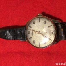 Relojes de pulsera: ANTIGUO RELOJ DOGMA PRIMA 21 RUBIS GRAN DIAMETRO CHAPADO EN ORO FUNCIONANDO PERFECTO. Lote 175859302