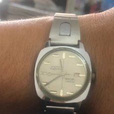Relojes de pulsera: RELOJ MORTIMA VINTAGE PARADO. Lote 175946128