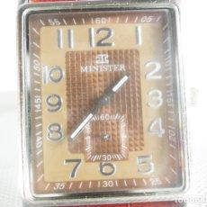 Relojes de pulsera: ELEGANTE Y ATRACTIVO RELOJ DE CABALLERO SEGUNDERO A LAS 6 WR 30M LOTE WATCHES. Lote 175961432